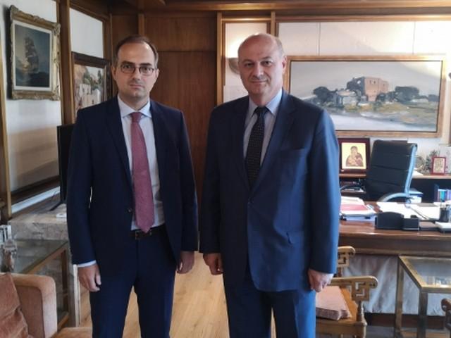 Δελτίο Τύπου: Συνάντηση Δ. Αναστασόπουλου με τον Υπουργό Δικαιοσύνης κ. Κ. Τσιάρα